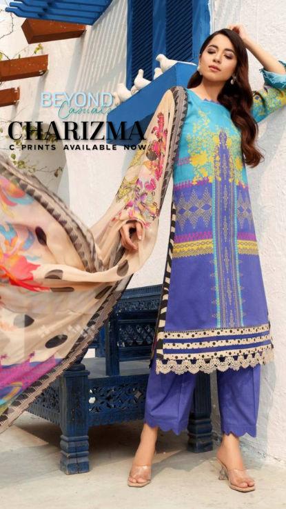 Charizma uk c prints pakistani designer