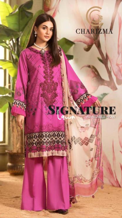 Charizma uk lawn pakistani wear at hoora