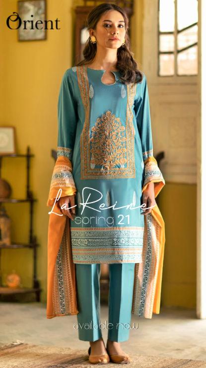 Orienr LA Reine at hoorain designer wear