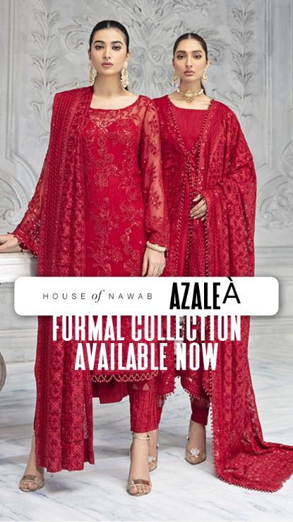 HouseofNawab AZALEA pakistani ladies wea