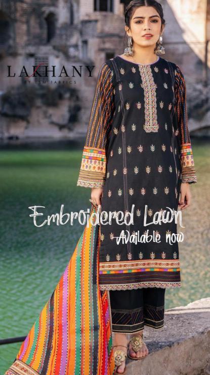 Lakhany uk Emb Pakistani ladies wear at