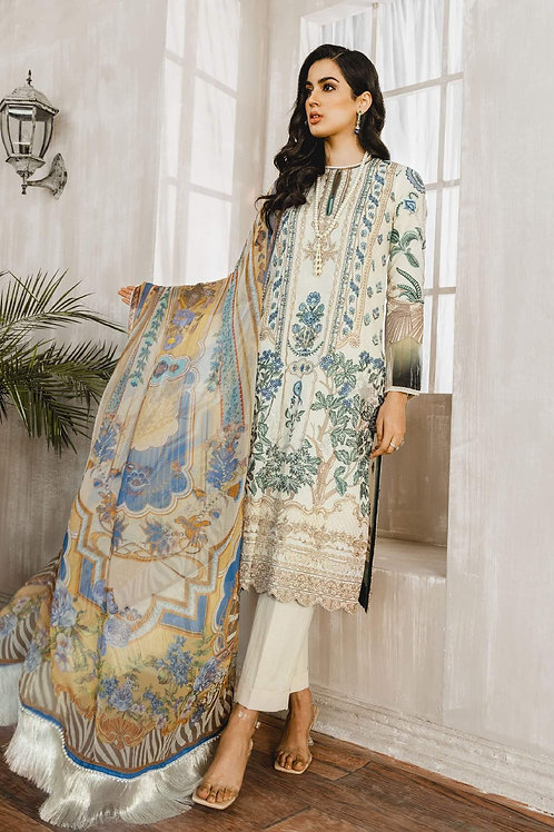 Maryum N Maria | Luxury Lawn Collection '21 | All Love-3Pc Stitched