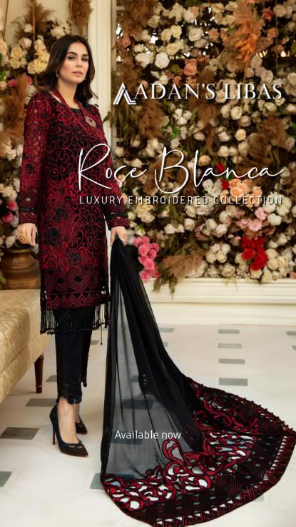 Adans libas pakistani designer dresses a
