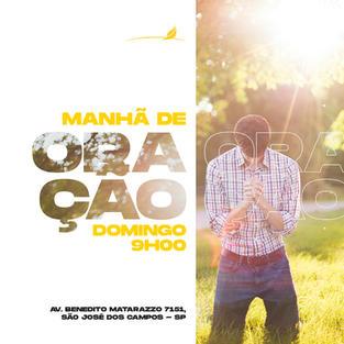 MANHÃ DE ORAÇÃO