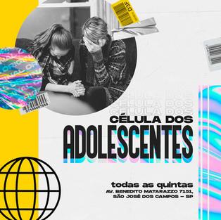 CÉLULA DE ADOLESCENTES
