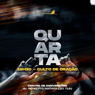 CULTO DE ORAÇÃO