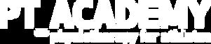 PT Academy logo white