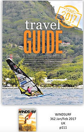 Travel Guide Windsurf UK lena Erdil Tahiti