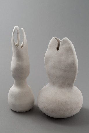 stoneware, slip