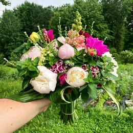 Large Statement bridal bouquet - mid June (profile)