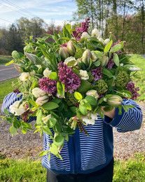 Large Statement bridal bouquet - mid May