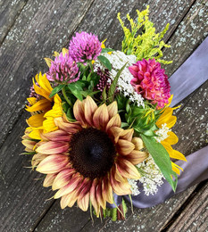 August market bouquet