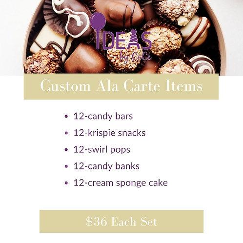 Custom Ala Carte Items