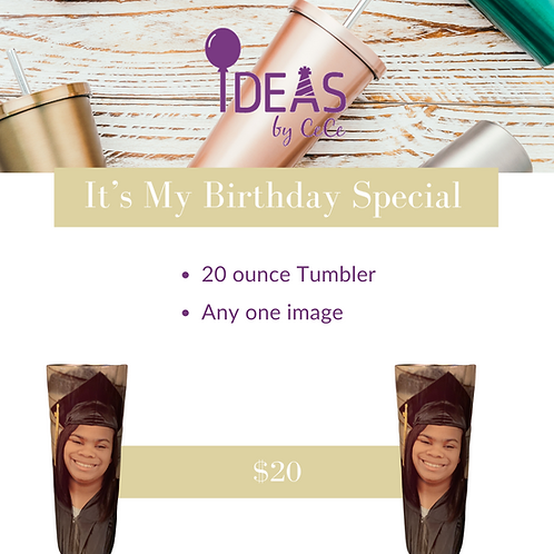 It's My Birthday Special