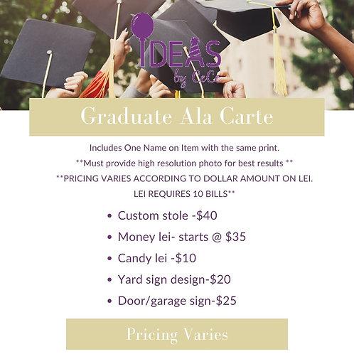 Graduate Ala Carte