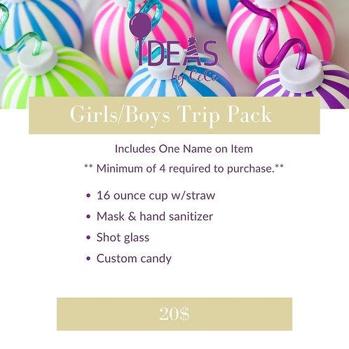 Girls/Boys Trip Pack