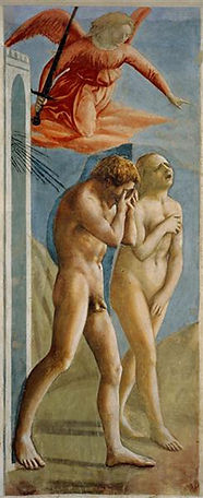 Adam and Eve - Expulsion from the Garden