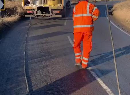 Road Marking in Kirklees