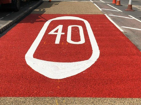 Bold and eye catching High Friction Surfacing and Road Marking solutions......