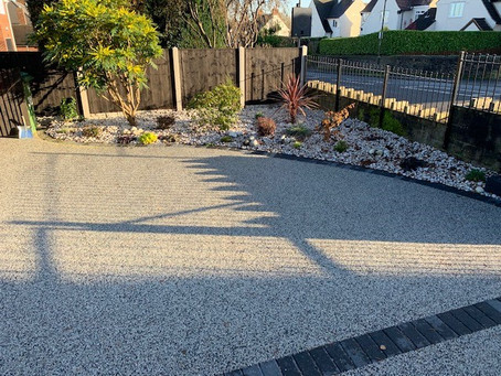 Freshening up your driveway?