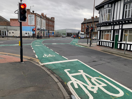 High friction surfacing and road marking services in Hull