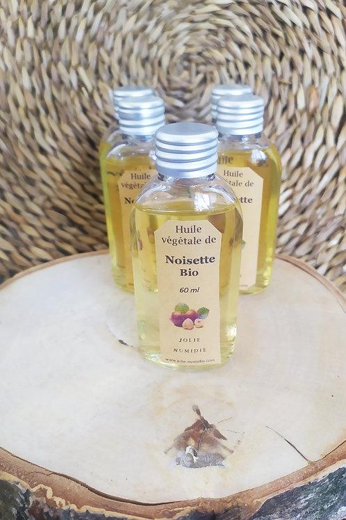 Huile végétale bio de Noisette