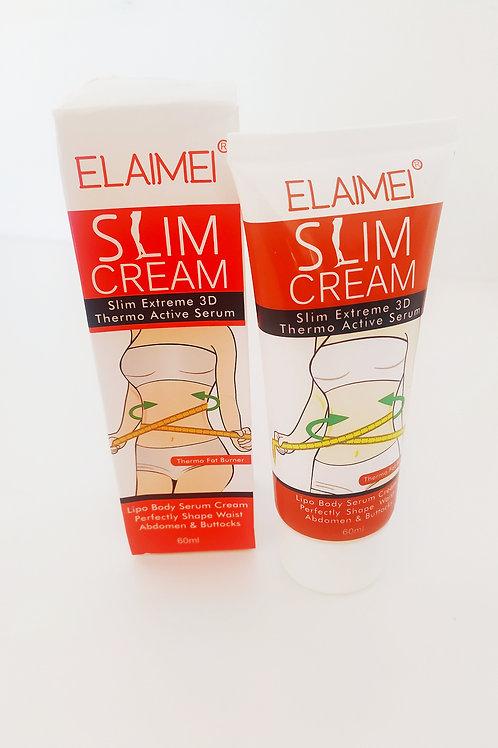 Crème amincissante fermeté corps ventre hanches fesses bras
