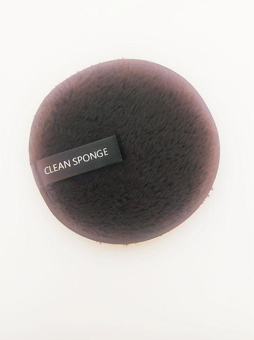 Éponge/ disque nettoyant demaquillant réutilisable et lavable