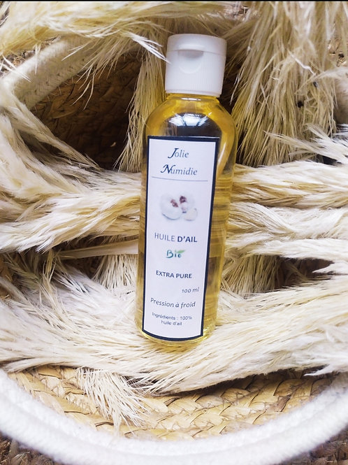 Huile d'ail pure 100 ml