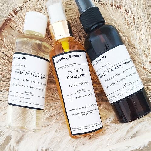 Box Beauté des cheveux, Pousse fortification hydratation