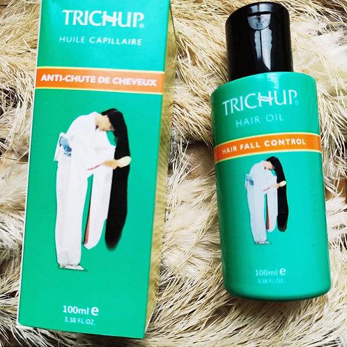 Huile indienne Trichup, le secret pour des cheveux longs et résistants