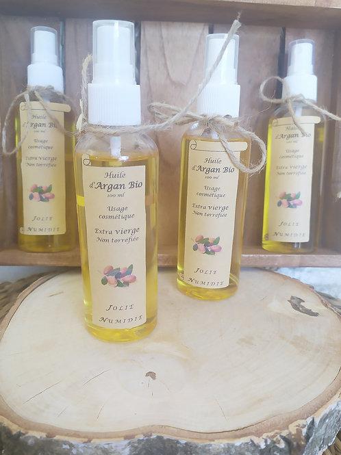 Huile d'Argan Biologique pure cosmétique 100 ml