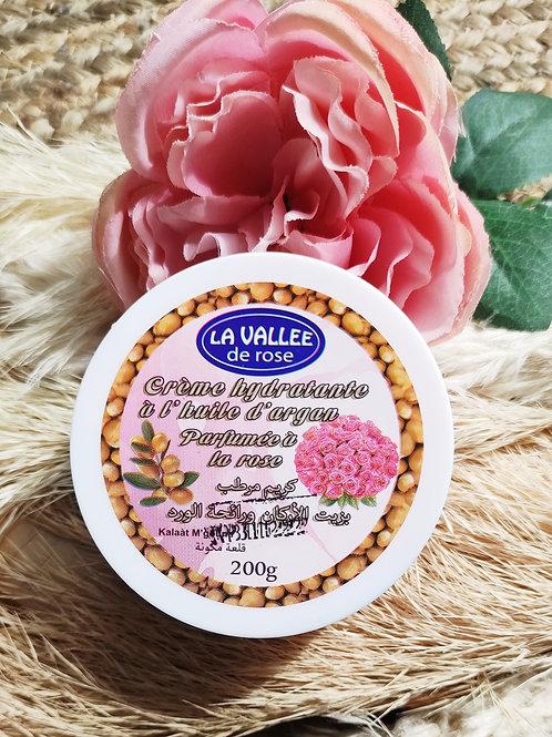 Crème hydratante nourrissante argan/ rose corps