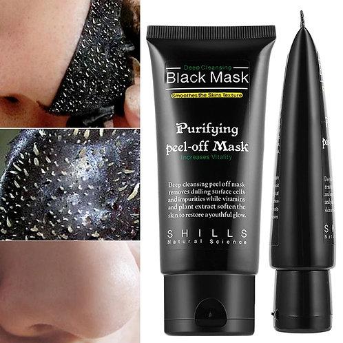 Peel off / gommage visage au charbon desincrustant points noirs
