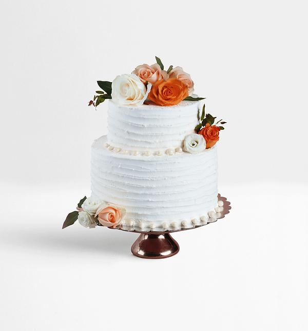 Decorated Layered Cake
