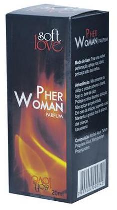 PERFUME PHERWOMAN FEMININO - 20ML