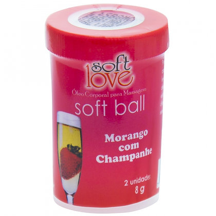 BALL MORANGO COM CHAMPANHE - 8GR