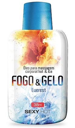 ÓLEO PARA MASSAGEM FOGO E GELO EVEREST 38ML