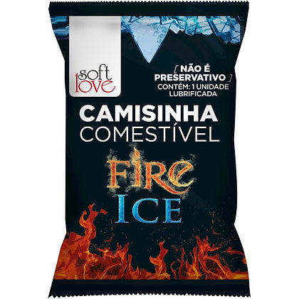 Camisinha Comestível Fire Ice - Esquenta e Esfria