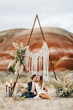 Painted Hills Elopement Session_ Liliya