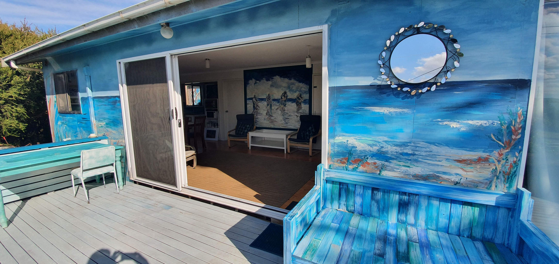 Surf beach front deck