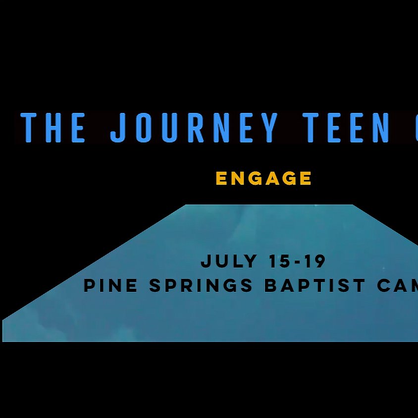 """THE JOURNEY YOUTH CAMP - """"ENGAGE"""""""