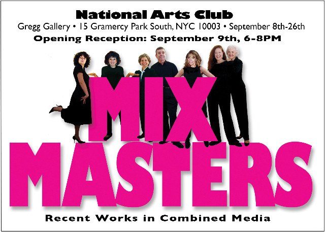 Mix Masters | National Arts Club, Gramercy Park South, NYC