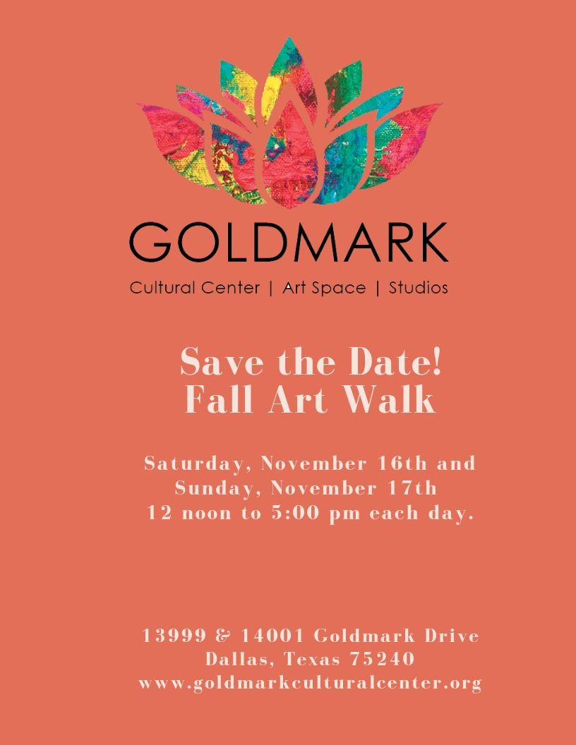 Goldmark Cultural Center Fall Art Walk