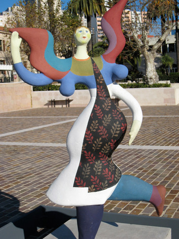 Roger Capron Larger than life sculptures throughout the town of Vallauris.