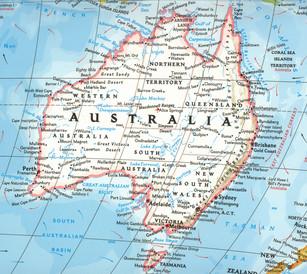 Cairns is in Queensland off the Great Barrier Reef.
