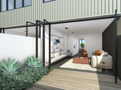 Zinc Terraces  - render