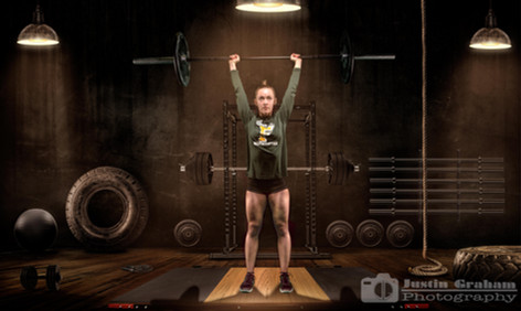 Weight Lifting Portraits