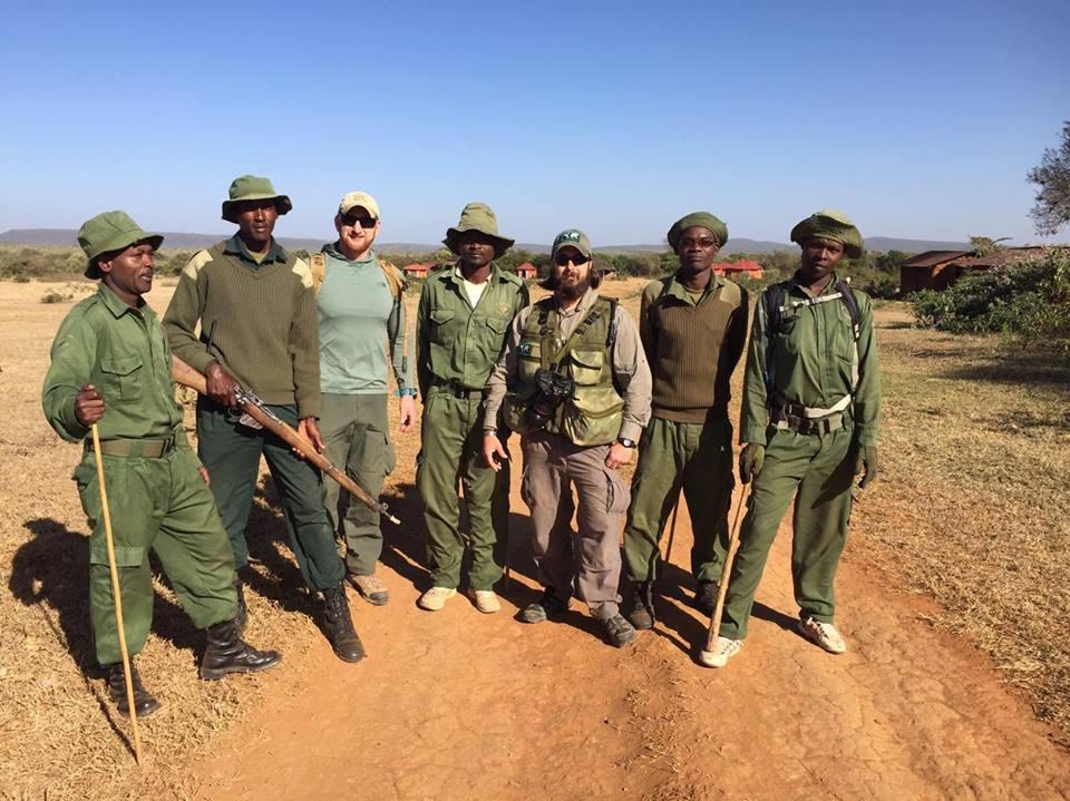 Out on patrol with the rangers