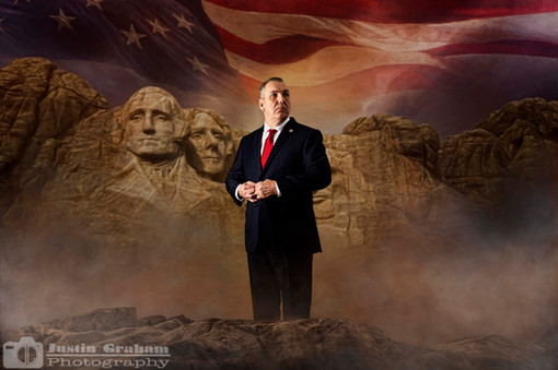 Patriotic Portrait